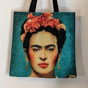 Bags - Frida Kahlo Reusable Shopping Tote Market Bag NWOT